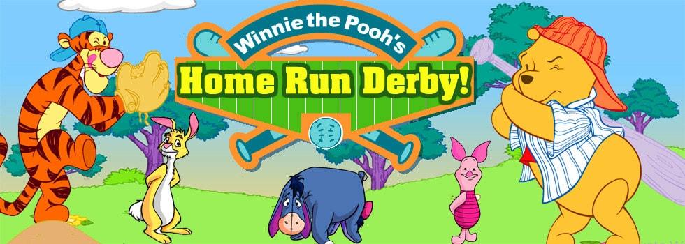 Winnie The Pooh Home Run Derby Game - Play Free Baseball ...